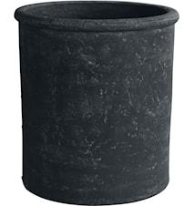 Kruka d28,5 h30,5 cm svart
