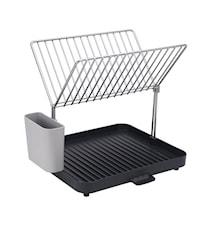 Y-Rack diskställ grå/stål - 36 cm