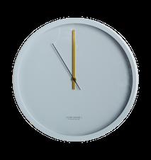 Väggklocka Clock Couture Ø 30 cm - Grå