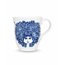 Mugg, Rosalinde, blå, 35 cl