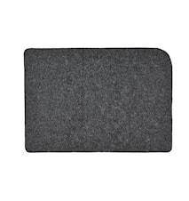Tablett Mörkgrå 44x31 cm