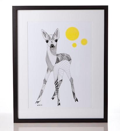 Bild av Mooncake Bambi poster