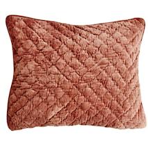 Velvet Quilted Kuddfodral 40x60 - Caramel
