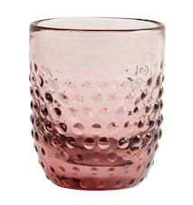 Dricksglas Ø 9 cm - Ljusrosa