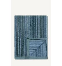 Varvunraita Håndduk 150x75cm Lyseblå/Mørkegrønn