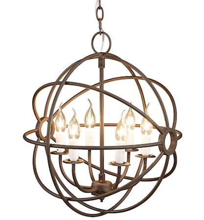 Gyro taklampa - Antique rust