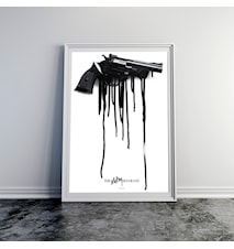 The melting revolver poster
