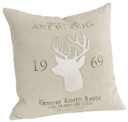 Bild av Artwood Reindeer Lodge Kuddfodral + innerkudde