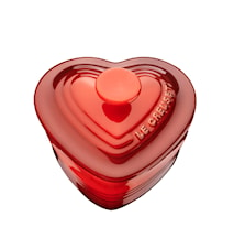 Ramekin Hjärta med Lock 0,25 l Cerise