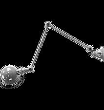 Loft D4401 Vägglampa 40+40x15 cm m. brytare