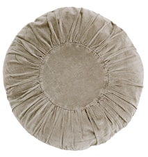 Rund kudde Ø 60 cm - Sand