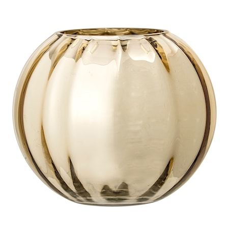 Bild av Bloomingville Vas Guld Glas 14 cm