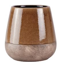 Skjuler - Keramik - Brun - D 22,0cm - H 22,0cm - Stk.