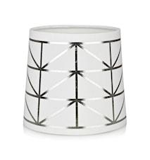 Trend Lampskärm Vit/Silver