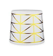 Trend Lampskärm Vit/Guld
