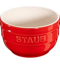 Ramekin 2-pakk 8 cm rød 0,2 L