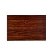 Tablett Trästruktur Mörk 44x28,5 cm