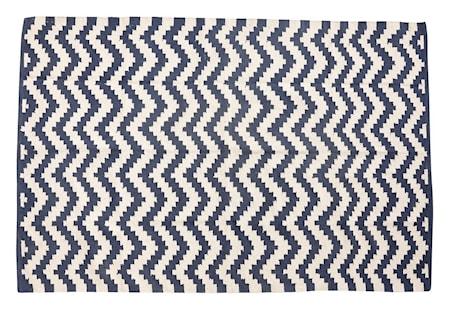 Bild av Hübsch Woven zig matta