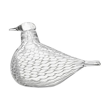Birds by Toikka fredsduva vit 160x110 mm