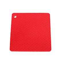 Grytlapp Fyrkant Röd