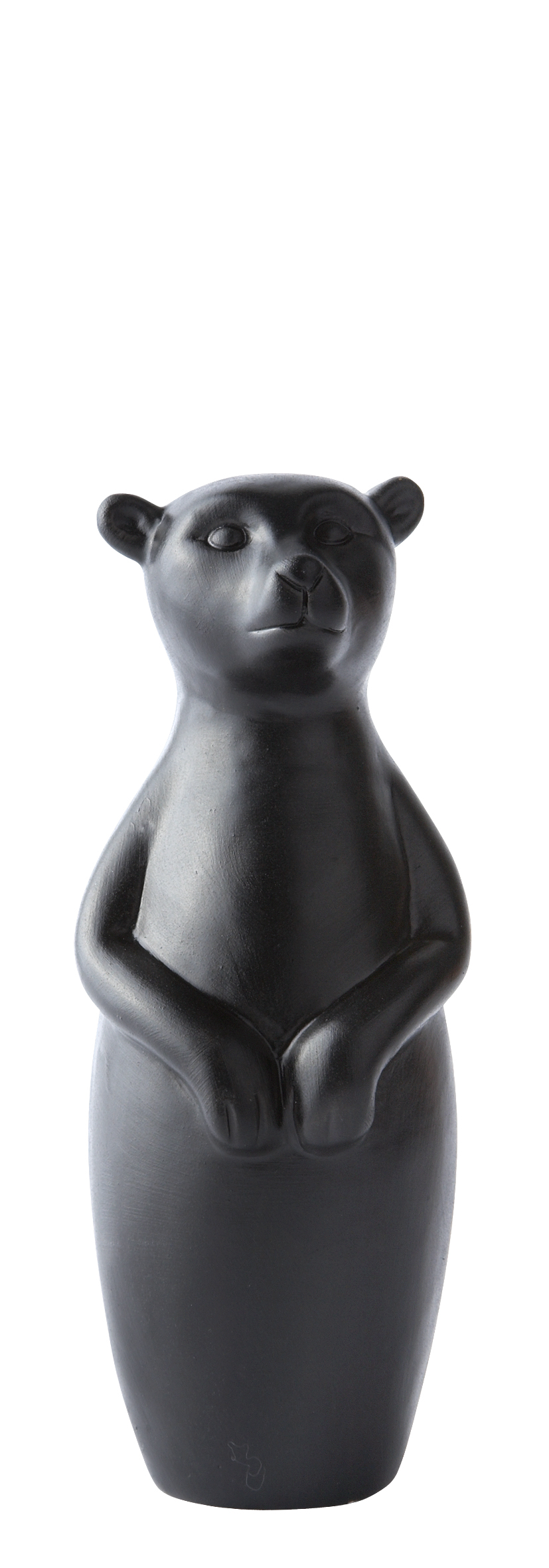 Figur Porslin Svart 14,5 cm
