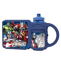 Kombi Flaska+Matlåda Avengers