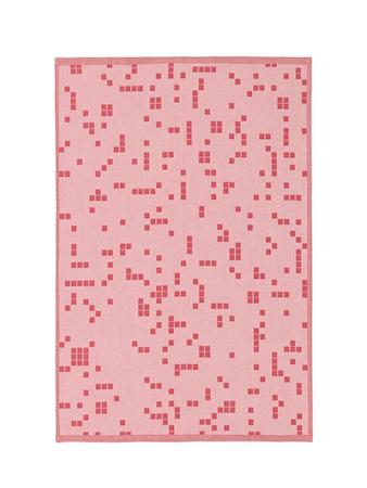 Normann Copenhagen Illusion Keittiöpyyhe Rosa
