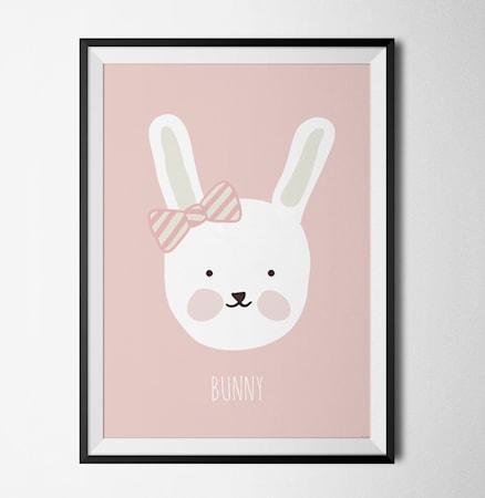 Bild av Konstgaraget Bunny poster