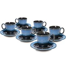Espressokupit 6-pack Lava