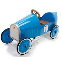 Monthléry blue trampbil