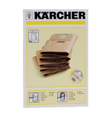 Kärcher Støvsugeposer 5stk, papir