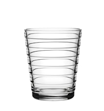 Aino Aalto glass 22 cl klar 2-pakk