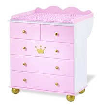 Prinsessan Karolin skötbord & byrå