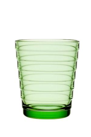 Aino Aalto glass 22 cl eplegrønn 2-pakk