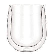 Dubbelväggat Vittvinsglas 19 cl 2 st