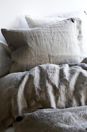 Lovely linen örngott – Natural beige