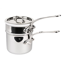 Cook Style Bain-Marie 0,8L blank stål