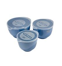Margrethe skålset Blå 6 delar 1,5L 2L 3L