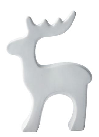 Figur Ren Porslin Vit 21 cm