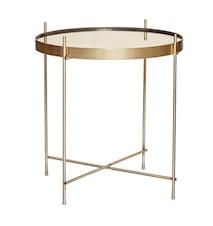 Sofabord ø43xh45 cm - Guld
