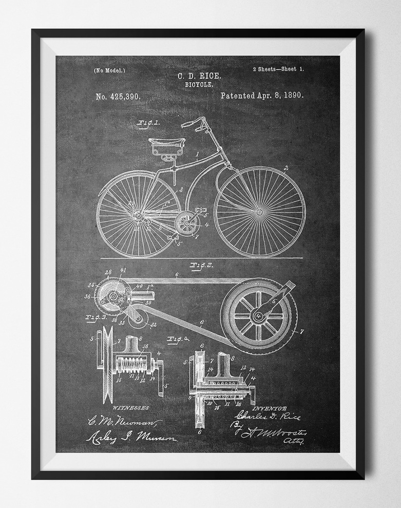 48 Patent poster - 40x60