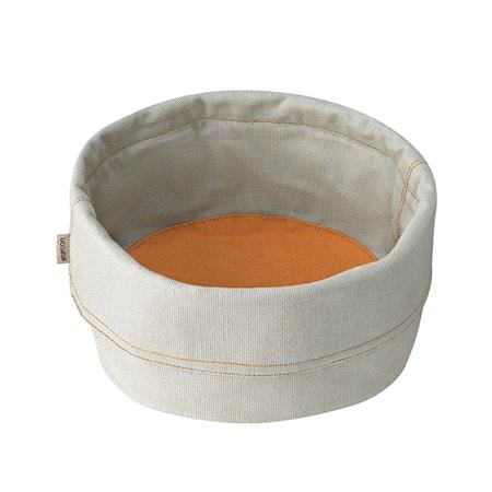 Brödpåse, stor - beige/saffran
