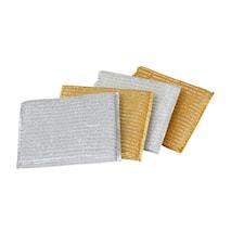 Disksvampar i guld och silver 2-pack