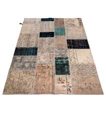 Vintage Patchwork matta - Antique Multi