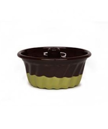 Sockerkaksform Chocolate/Pistachio Ø 12 cm