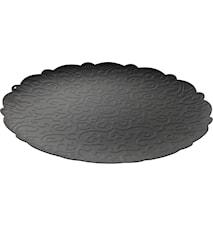 Dressed Rund bricka 35 cm, svart