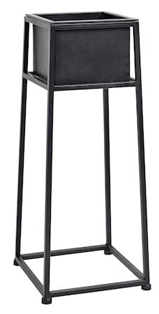 Iron planter on stand