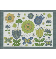 BETTYS BLOMMOR Tablett 35X48 CM