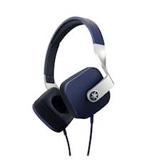 YAMAHA HPH-M82 On-Ear Blå Mic