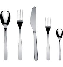 KnifeForkSpoon Bestickset 5 delar Blank